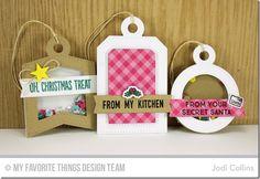 Gift Tag Greetings, Santa's Elves, Winter Wonderland, Santa's Elves Die-namics, Tag Builder Blueprints 4 Die-namics, Winter Wonderland Die-namics - Jodi Collins  #mftstamps