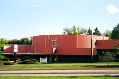 One of the great Cinerama Wide Screen Theaters (largest screen of its type in the US)  It was demolished in 2001 to make room for a parking lot  Omaha, Nebraska
