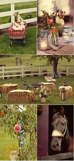 country wedding ideas | Rustic Country Wedding Ideas / Nashville Wedding by Cedarwood Weddings ...