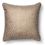 Threshold™ Metallic Cheetah Print Throw Pillow