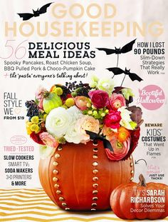 WOW the new design/cover of US Good Housekeeping magazine is really fresh!