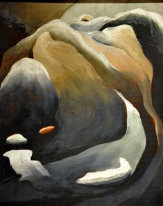 Arthur Dove----may be considered the first American abstract painter.