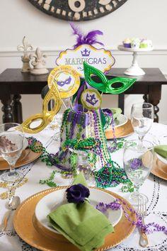 Ideas para decorar las cenas de carnaval