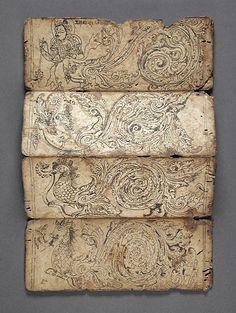 Yama-bato: Book of Iconography Nepal, Himalayas 1575-1600