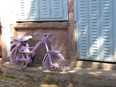 Valentino Rossi's lilac period The Back Streets Of Ayvalık/Quincy