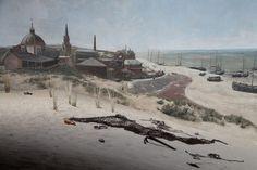 fragment Panoramy Mesdaga - Haga - Holandia