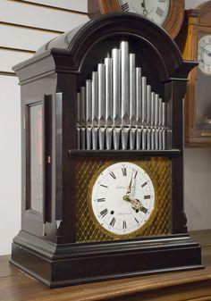 Swiss Organ Player Musical Clock | JP Clocks