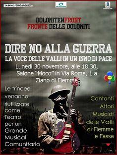 """""""Dolomiten Front"""" presentazione film musicale a Ziano"""