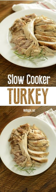 Slow Cooker Turkey | NoBiggie.net