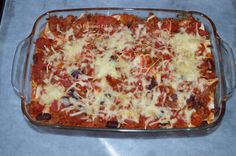 La lasagne n'est pas que italienne, elle peut être aussi mexicaine. Avec Weight Watchers.