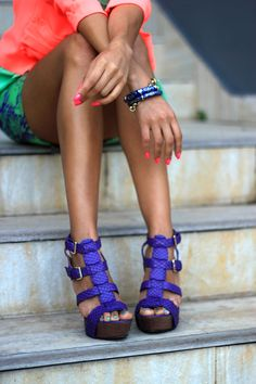 Bright colors = haute for summer