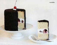 Chocolate Covered Cherry Oreo cake