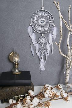 Dream catcher will defend you and your family from bad dreams and fight against evil spirits trying to creep into your house at night because they will become confused and tangled in its web. It brings love, light and positive energy and allows only your good dreams to slip down