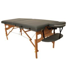 Spa-The Fairfield massage table is solidly constructed of European Beech wood. This table provides the stability expected for professional therapists, students and home users.CID=214117 $125.65