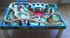 pictures of thomas the tank engine play tables | Thomas-The-Tank-Engine-Train-Friends-Island-of-Sodor-Wooden-Play-Table ...