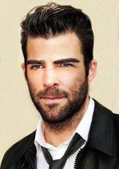 Zachary Quinto beard