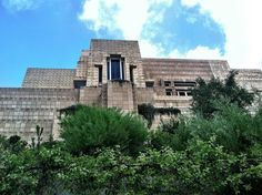 LOS ANGELES, CALIFORNIA  Ennis House This weird abode has been everything from the House On Haunted Hill to a robot hunter's pad.