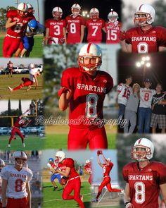 Sports Collage - Rubalcava Photography