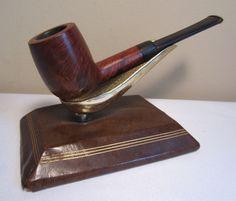 Vintage Antique Straight Billiard Estate Briar Tobacco Smoking Pipe COOL