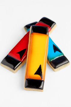 Star Trek Cookies   The Bearfoot Baker