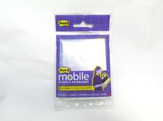 Post-it Mobile Attach and Go Pocket Package Great to add to work notebook and traveler's notebook