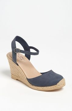 Me Too 'Bethany' Wedge Sandal available at #Nordstrom