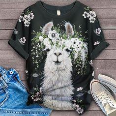 Alpaca Shirt Bird Shirt, T Shirt, Lovers, Prints, Supreme T Shirt, Tee, Printmaking, Tee Shirt