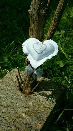 Coeurs en tissus à piquer Fêtes des mères : Accessoires de maison par lestresorsdisa68