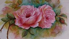 Corilee's Cottage Presents A Study Of Roses 2 DVDs Acrylic Painting