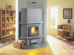 Tulikivi Soapstone Fireplace.  Inventive, efficient and beautiful.