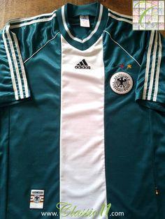 60a428529b0c 1998 99 Germany Away Football Shirt (L)
