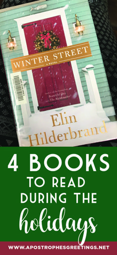 4 books to read during the holidays