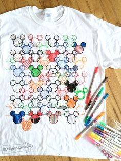 Disney hidden mickey t shirt diy disney crafts disney shirts t. Disney Shirts For Family, Shirts For Teens, Disney Family, Family Shirts, Disney Tees, Disneyland Shirts, Family Names, Disneyland Vacation, Family Kids