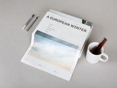 A European Winter paper  www.samflahertycreative.com hello@samflahertycreative.com