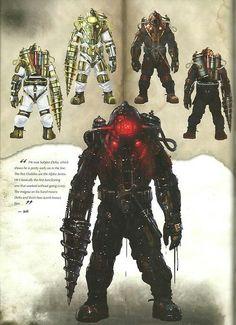 Bioshock 2, Bioshock Artwork, Bioshock Rapture, Bioshock Series, Bioshock Infinite, Game Concept Art, Character Concept, Character Art, Character Design