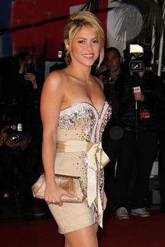 Christina Aguilera & Cee Lo Green Taking 'Voice' Hiatus; Shakira & Usher To Fill Their Chairs Shakira, Good Woman, Dress Skirt, Peplum Dress, Strapless Dress Formal, Formal Dresses, What Should I Wear, Elegantes Outfit, Jane Fonda