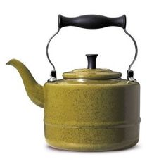 I love my Paula Deen teakettle. I drink morning and evening tea and the water is hot and ready very quickly.