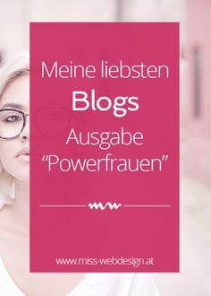 Lieblingsblogs: Powerfrauen | miss-webdesign.at