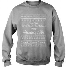 Japanese Chin All i want for christmas is Japanese Chin Crew Sweatshirts T-Shirts, Hoodies ==►► Click Image to Shopping NOW!