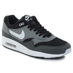 check out 51f36 3401b Nike Air Max 1 001 BLACK GYSR GREY-CL GRY-CL GRY