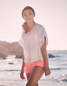 Edged in crochet, our Lanikai top from STORM by Monsoon is a seriously stylish choice for sunny days.