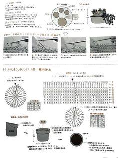 ♣다양한 뜨개 선인장 도안 모음♣ 전에 투빈맘도 만들어 본 적 있는 뜨개 선인장~ http://sekoi72.blog.me...