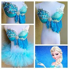 Queen Elsa Rave Outfit
