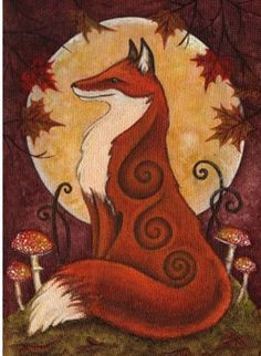 The Fox and the Full Moon.