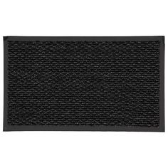 Mohawk Home Simply Awesome Striped Doormat, Black