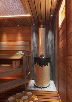 Ideas For House Design Outdoor Spas Sauna Shower, Indoor Sauna, Sauna Steam Room, Sauna Design, Best Bathroom Designs, Outdoor Spa, Spa Rooms, Bathroom Paint Colors, Hama