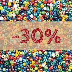 Rankdarbių mėgėjoms gera žiniai - stiklo karoliukai (biseris) PRECIOSA - jau HOBI.LT sandėlyje! Tą progą taikome -30% NUOLAIDĄ, o prekių pristatymas perkant už daugiau nei 39€ - NEMOKAMAS!