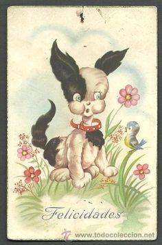 Feliciados vintage card