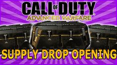 Call of Duty AW- HUGE Supply Drop Opening