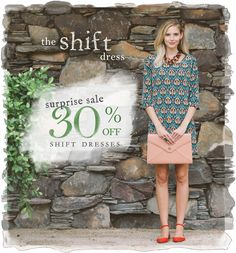 Shift Into Fall With A Suprise Sale